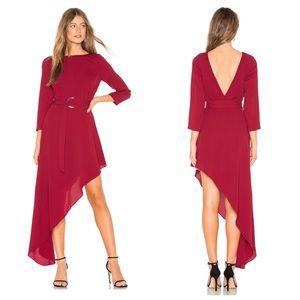 Revolve x Donna Mizani Iva Asymmetrical Hem Dress